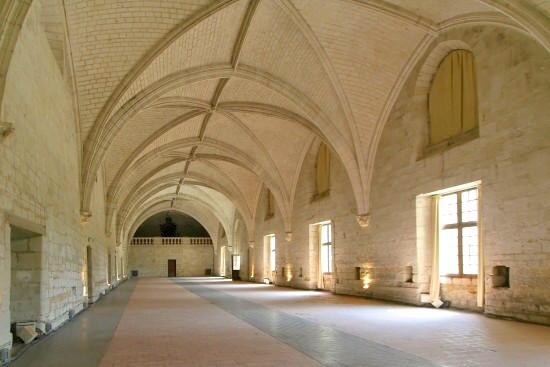Abbaye Royale de Fontevraud - Le Grand Réfectoire