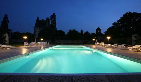 Château de Montbraye - La piscine