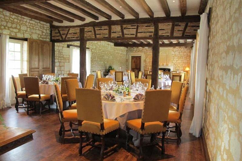 Château de Marçay - Salle de restaurant