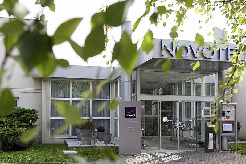 Novotel Evry Courcouronnes - L'entrée