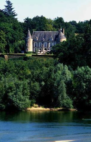 Château de Pray - Vue sur la Loire