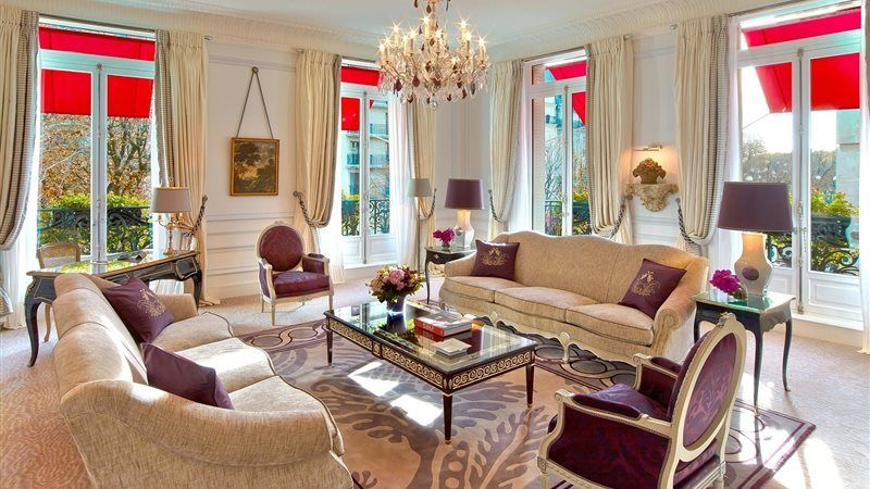 Hotel Plaza Athenee Paris - Suite Eiffel