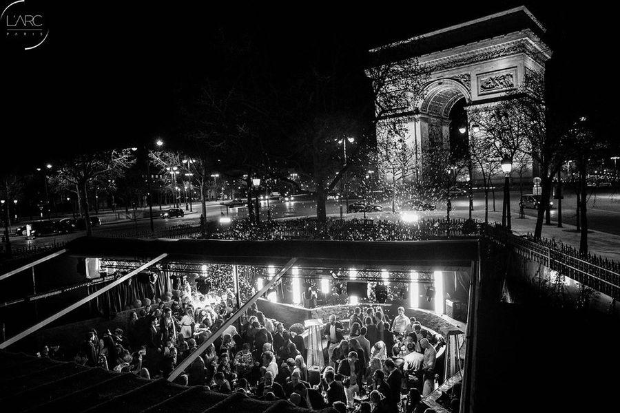 L'Arc Paris Club Restaurant - L'Arc de nuit