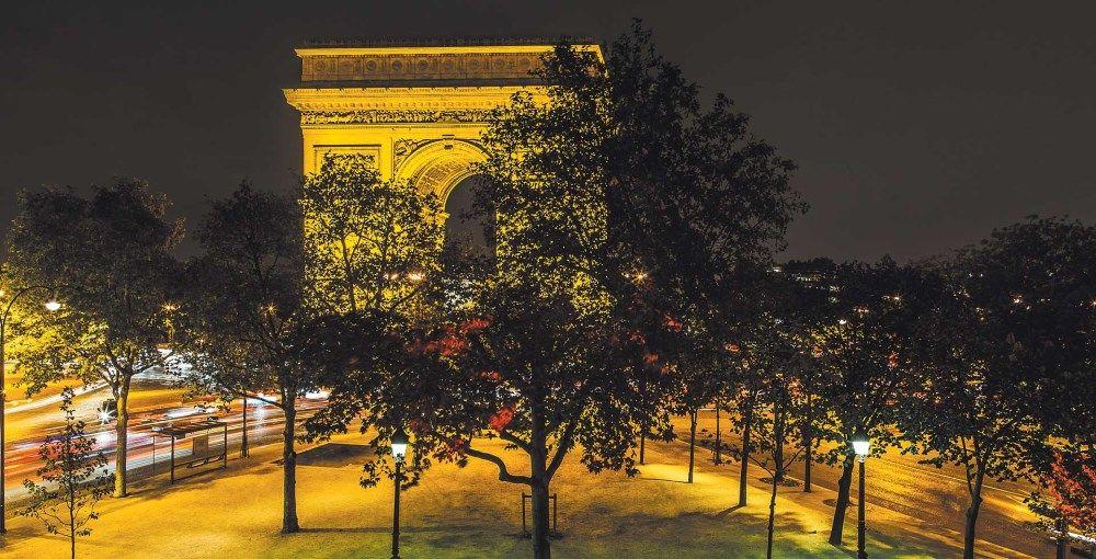 L'Arc Paris Club Restaurant - Vue sur l'Arc