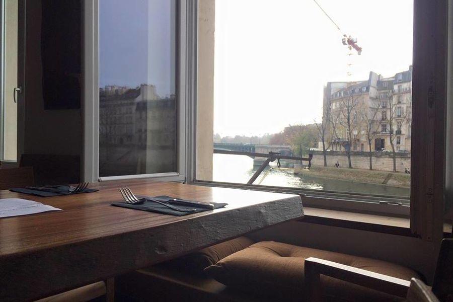 Les Nautes - Vue sur la Seine