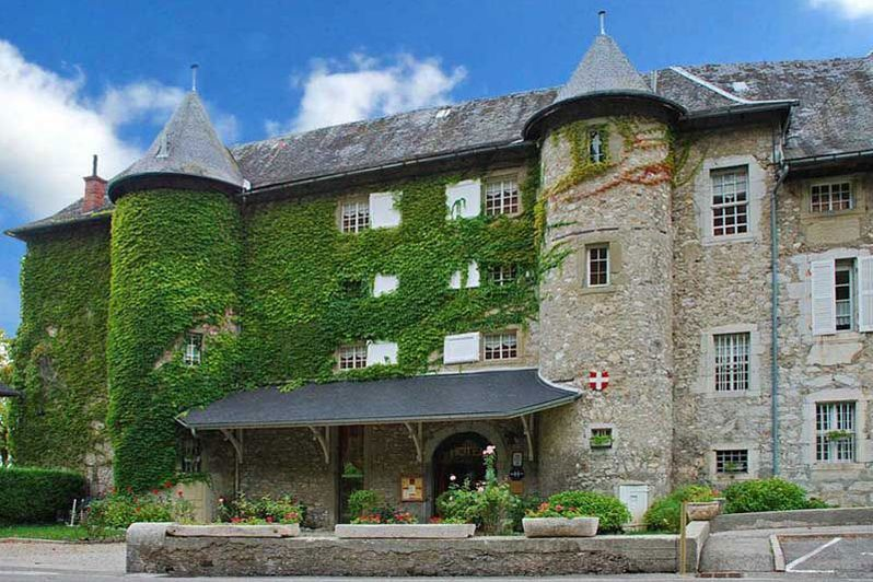Chateau des Comtes de Challes - Façade