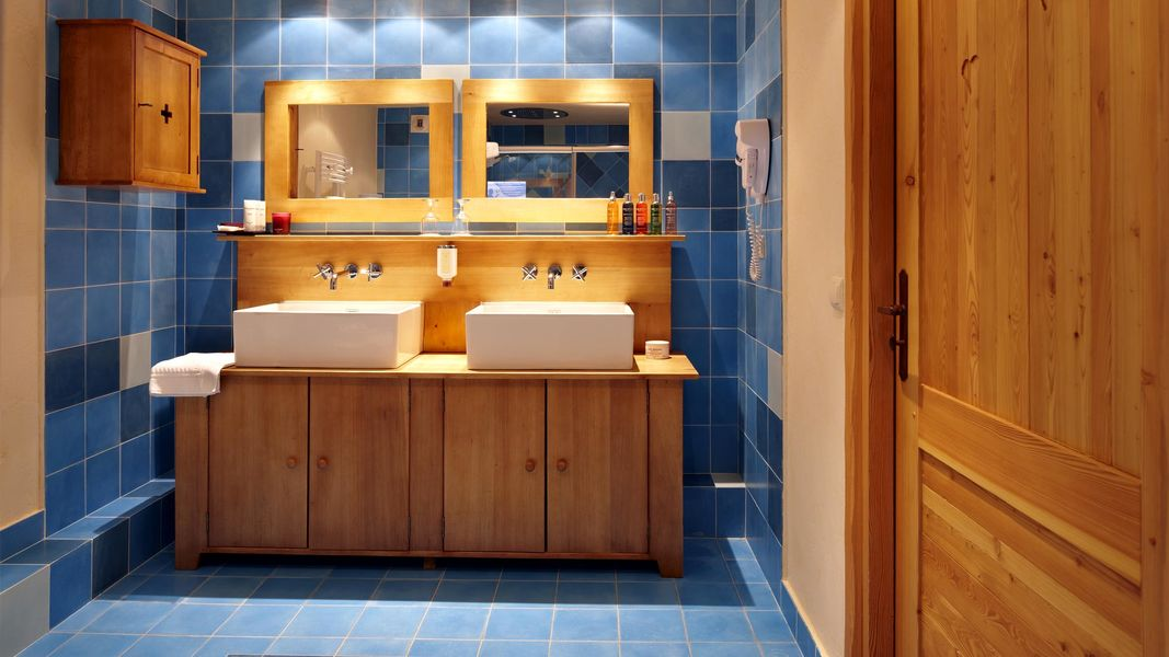 Chalet Mounier Hotel - Salle de bain