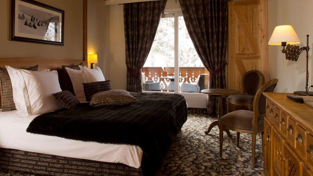 Chalet Mounier Hotel - Chambre (5)