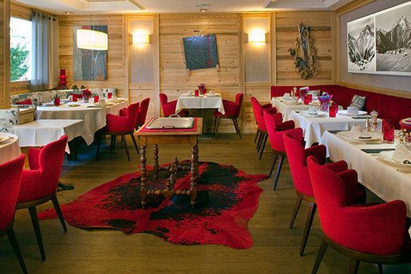 Chalet Mounier Hotel - Restaurant