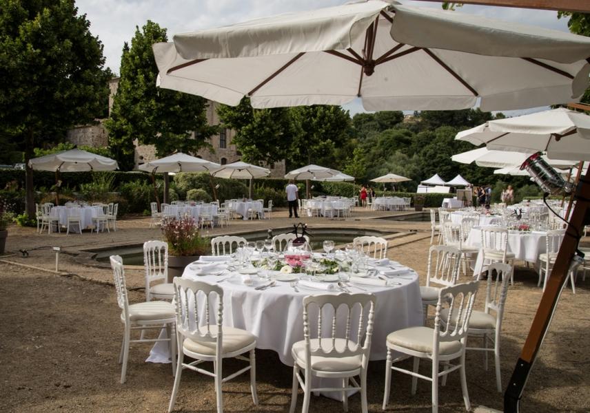 Chateau de Vaugrenier - Déjeuner autour des Bassins (1)