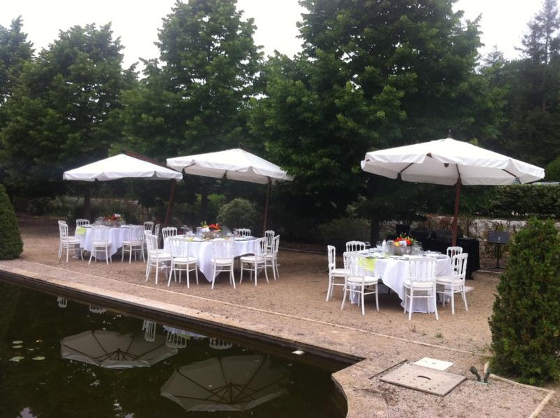 Chateau de Vaugrenier - Déjeuner autour des Bassins (2)