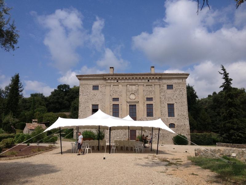 Chateau de Vaugrenier - Tente Parvis (1)