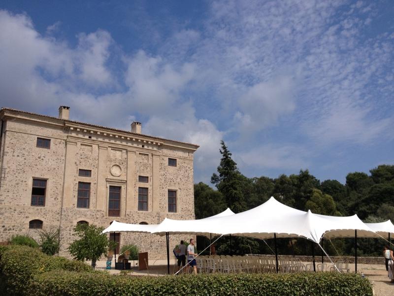 Chateau de Vaugrenier - Tente Parvis (2)
