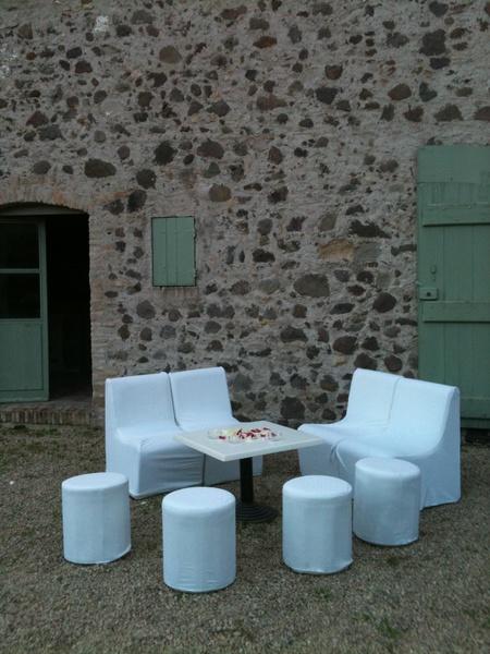 Chateau de Vaugrenier - Terrasse Fumeur (2)
