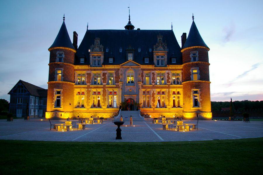 Château de Tilly - Château de nuit