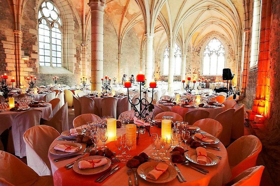 Abbaye de Reigny - Réfectoire des Moines (2)