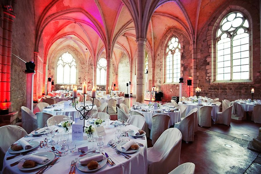 Abbaye de Reigny - Réfectoire des Moines (3)