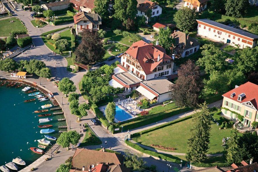 Le Cottage Bise Hotel Spa Talloires - Vue aérienne (1)