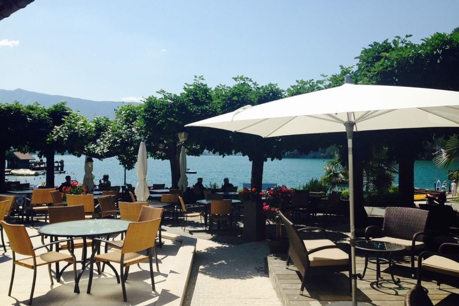 Le Cottage Bise Hotel Spa Talloires - Terrasse