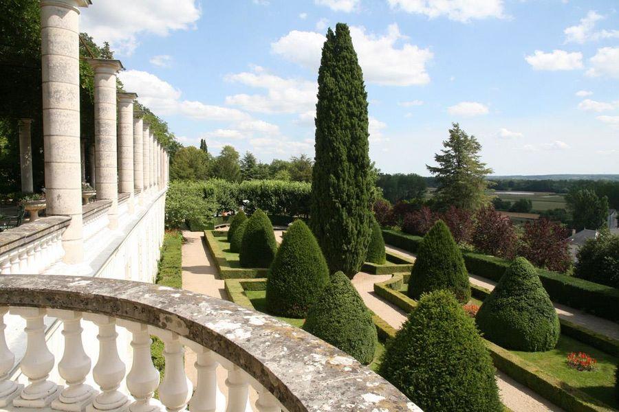 Château de Rochecotte - Jardins à la française