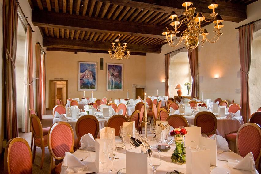 Chateau de Chailly - Salon de Loges