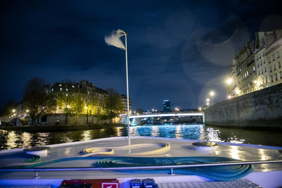 Yacht Diamant Bleu - En croisière