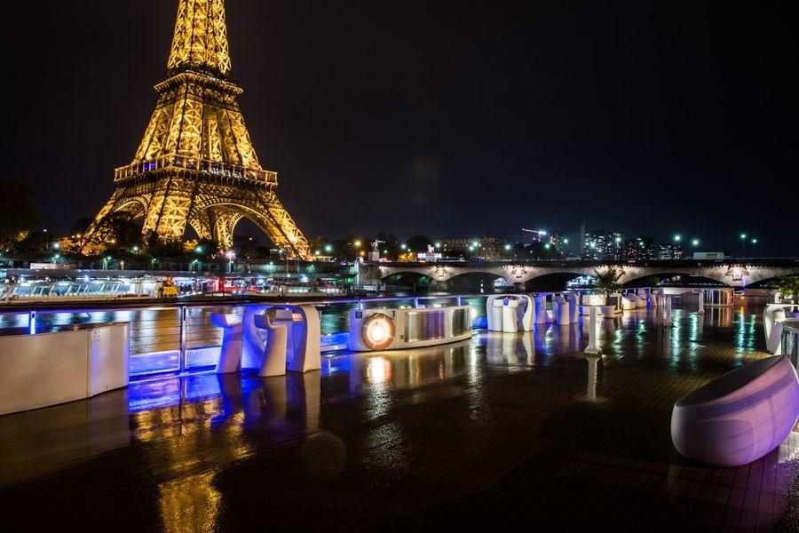 Yacht Diamant Bleu - Terrasse de nuit 1