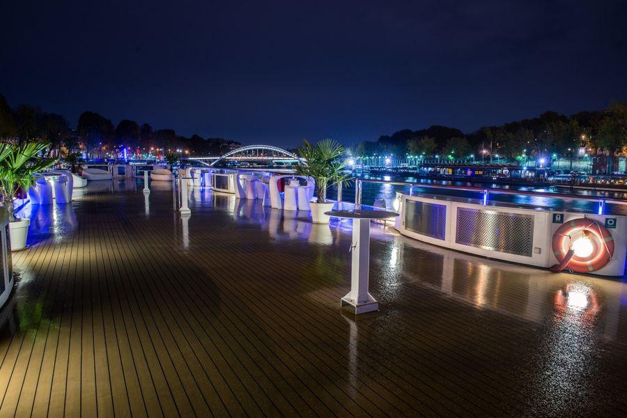 Yacht Diamant Bleu - Terrasse de nuit 2