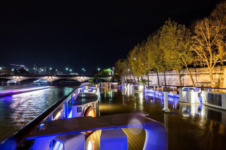 Yacht Diamant Bleu - Terrasse de nuit 4