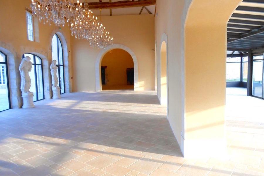 Manoir de Carabillon - La salle des 4 saisons et sa véranda