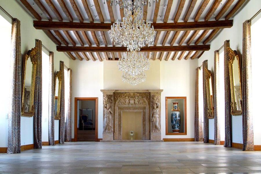 Manoir de Carabillon - La salle du Manoir