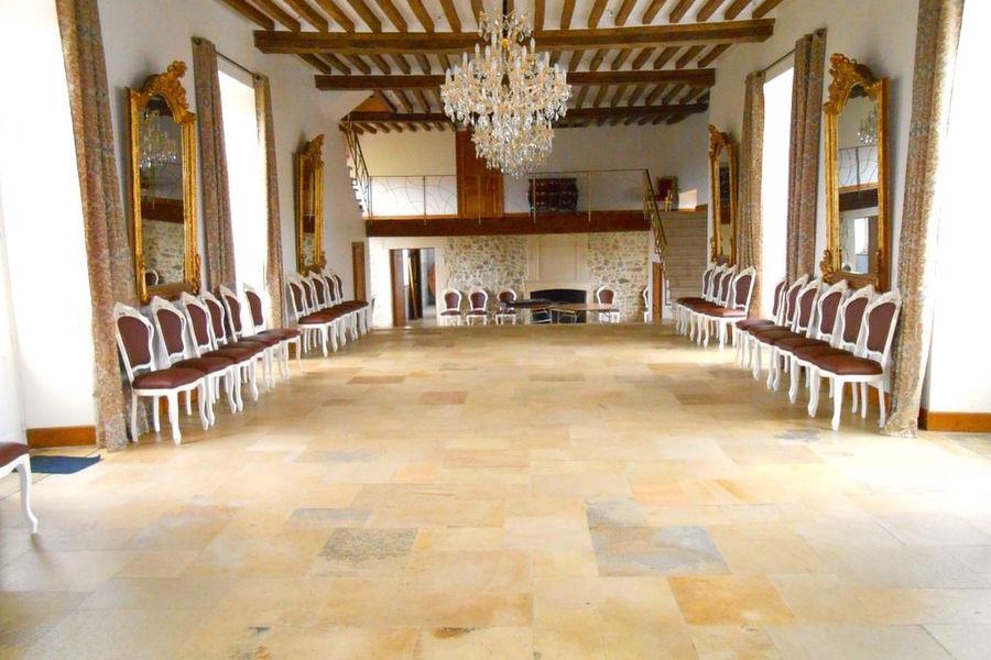 Manoir de Carabillon - La salle du Manoir 4