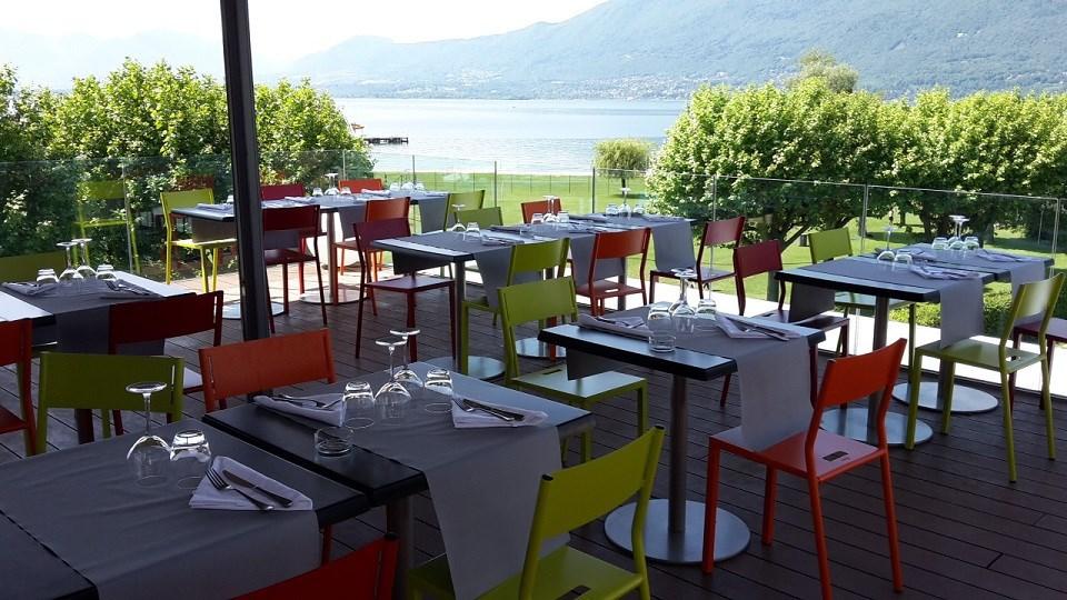 Best Western Aquakub Kubix Aix les Bains - Terrasse