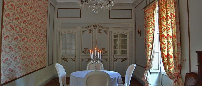 Manoir de la Perrière - Salon Louis XVI
