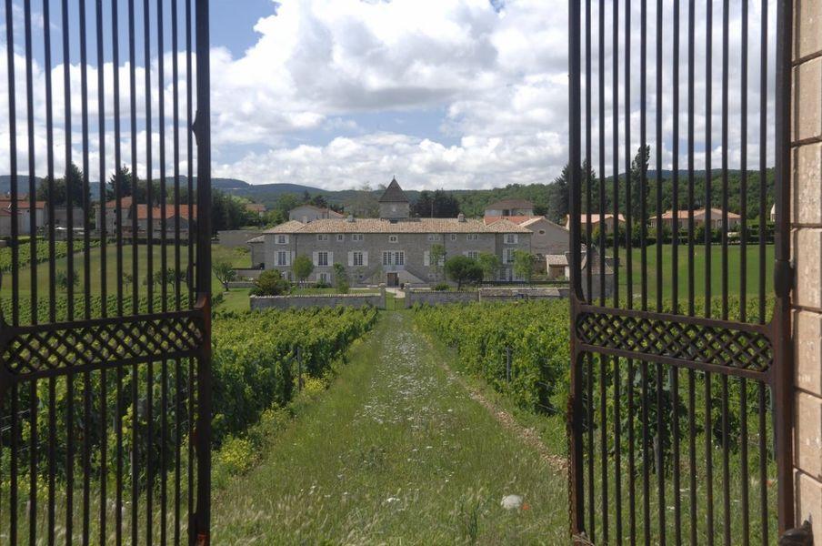 Chateau de Besseuil - Grilles du château