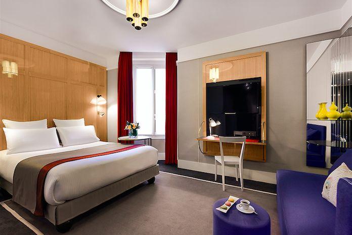 Hôtel Echiquier - Les hébergements