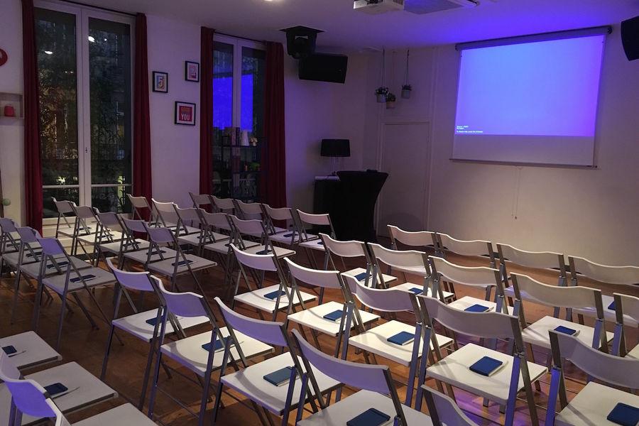 Salon Lafayette - Configuration théâtre 1