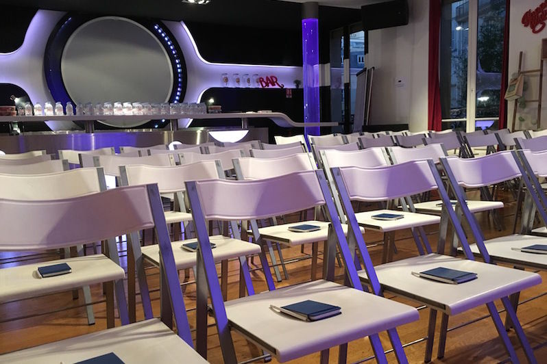 Salon Lafayette - Configuration théâtre
