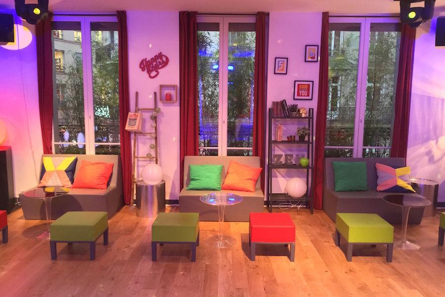 Salon Lafayette - Espace détente 2