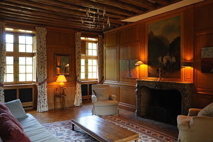 Château de la Cour Senlisse - Salon 1