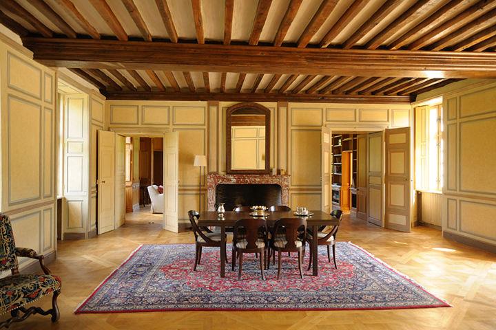 Château de la Cour Senlisse - Salon d'Honneur