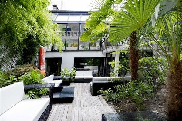 Villa Alesia - Le jardin