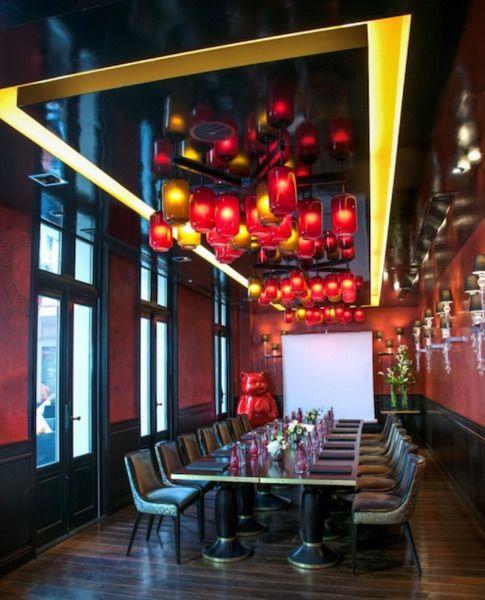 Buddha Bar Hotel - Le salon Lotus avec terrasse