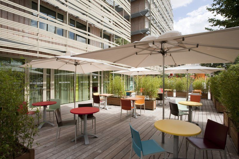 Holiday Inn Express Paris Canal de la Vilette - Terrasse