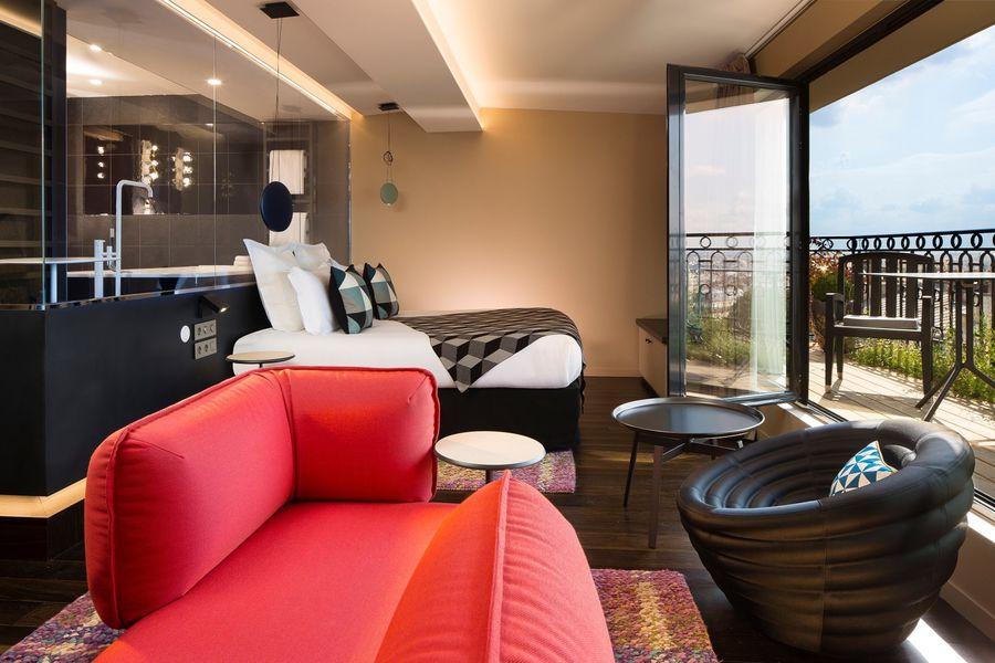 Terrass Hotel - Penthouse Terrass 1