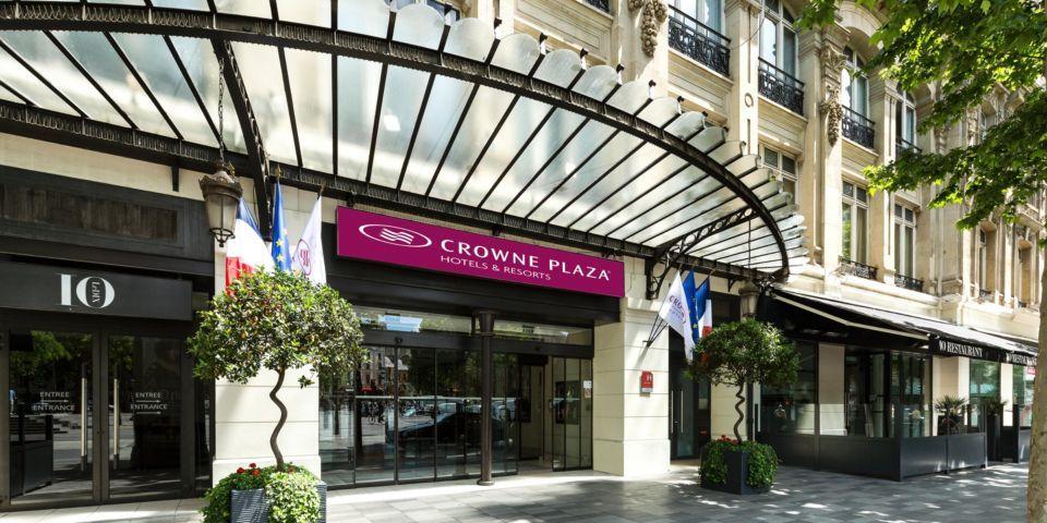 Crowne Plaza République - Entrée