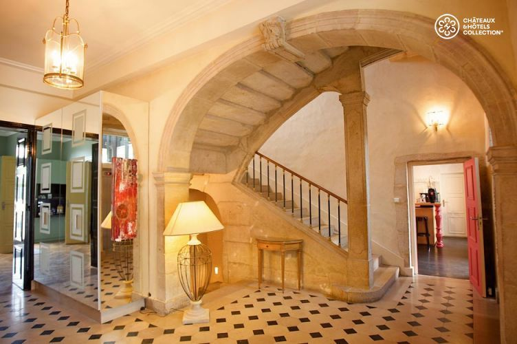 Château de Saulon - Les espaces intérieurs 2