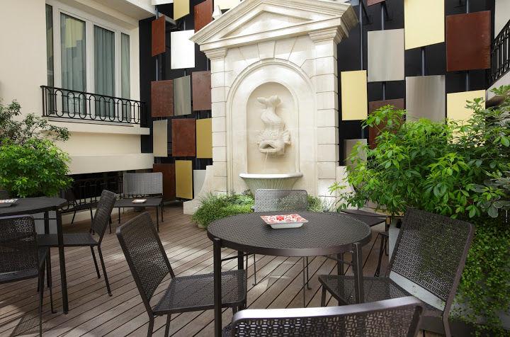 Hotel Rochester Champs Elysées - Terrasse
