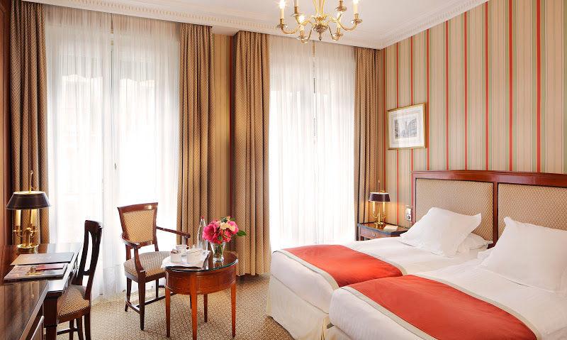 Hotel Franklin Roosevelt - Chambre