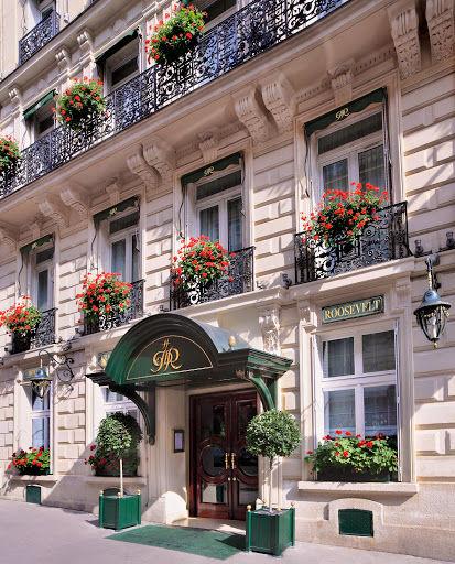 Hotel Franklin Roosevelt - Façade